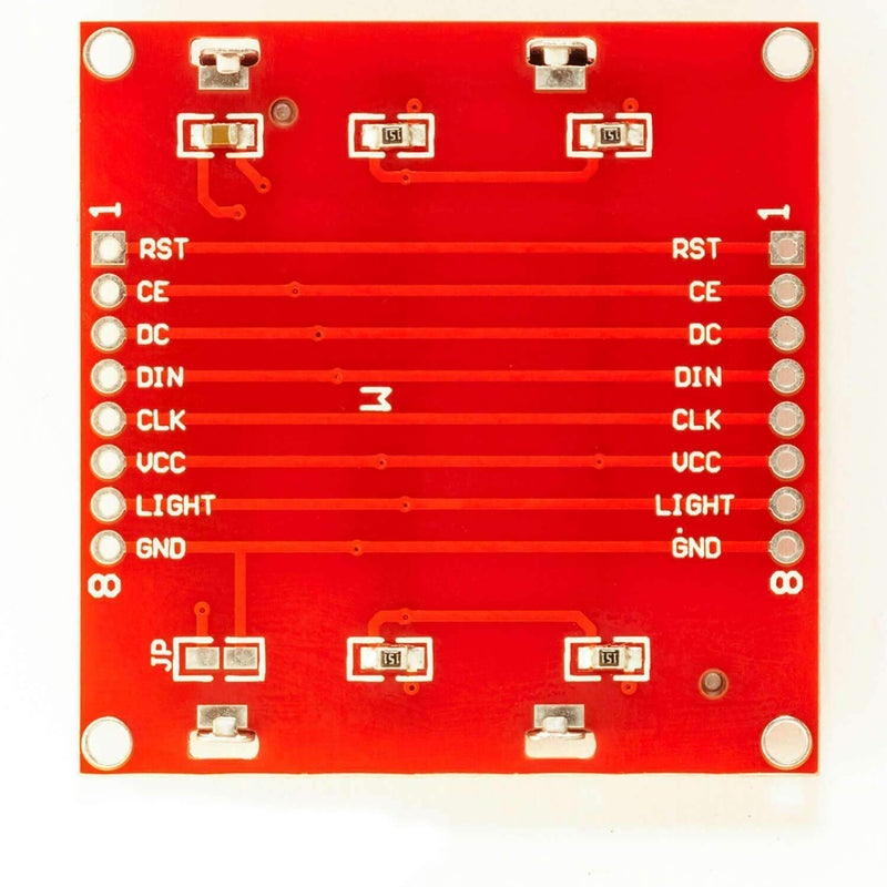 84 x 48 Pixel LCD Display Module with Backlight for Nokia 5110, Arduino and Joystick PS2 Gamepad Display AZ-Delivery