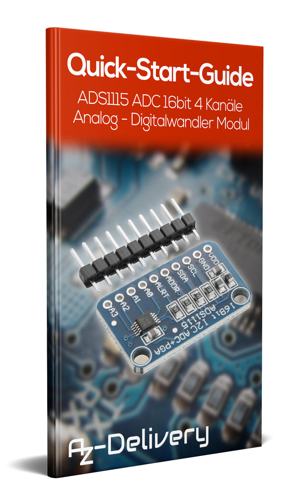 ADS1115 Análogamente - el convertidor digital con la I2C interface