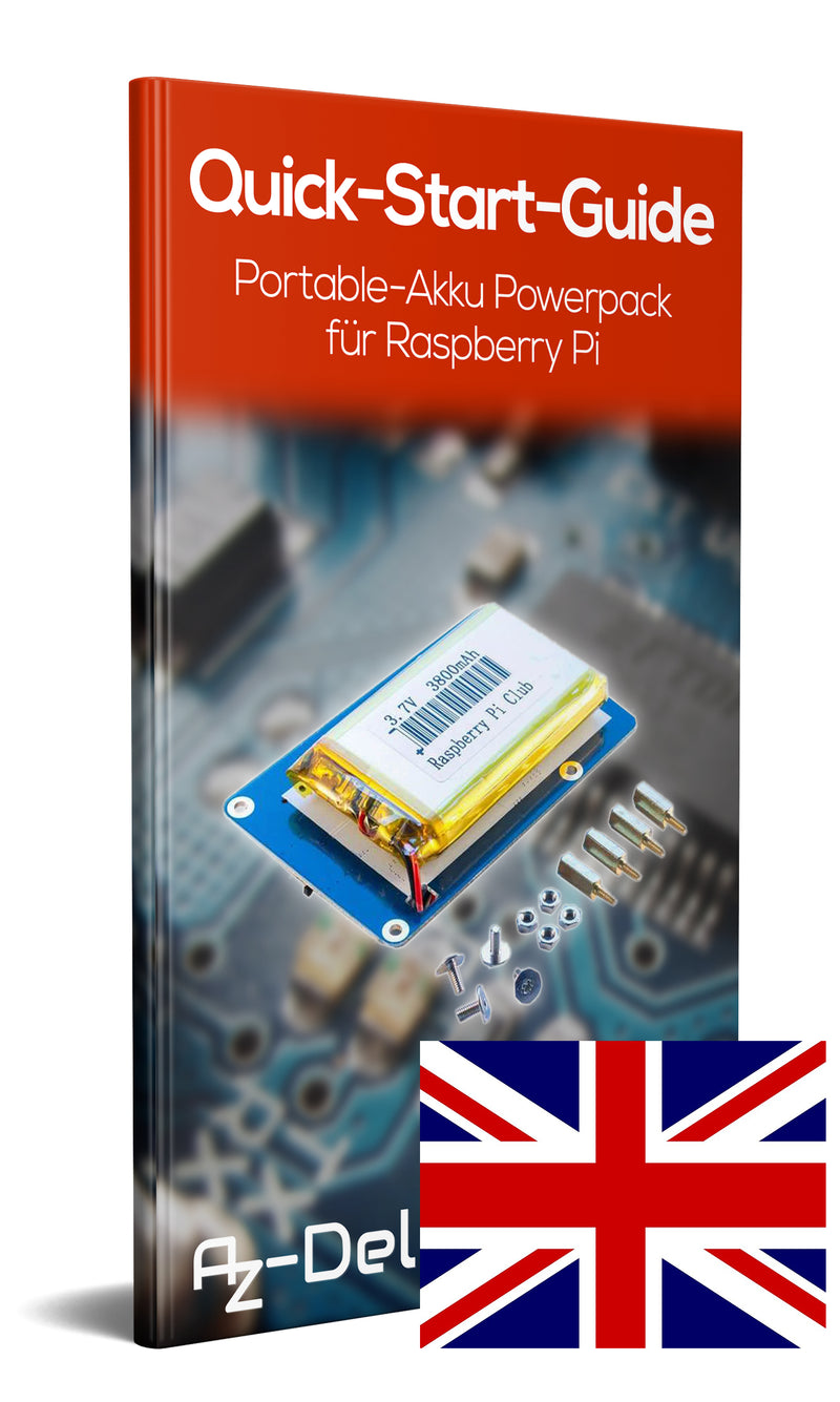 Battery Powerpack for Raspberry Pi
