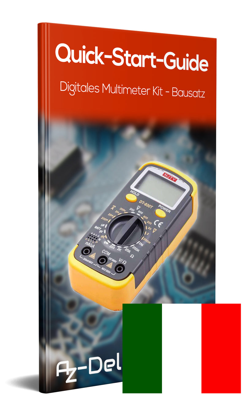 Digital Multimeter Kit-Kit