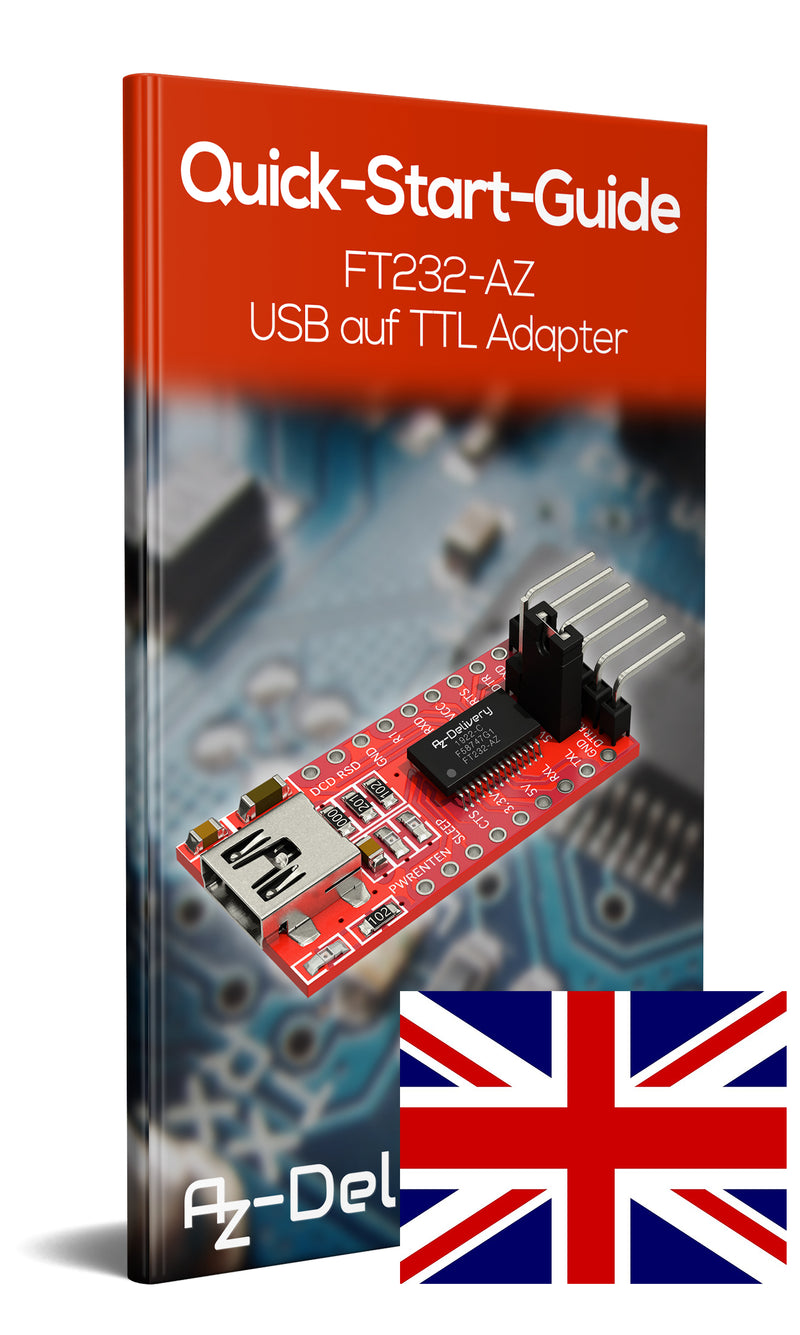 FT232-AZ USB auf TTL Adapter