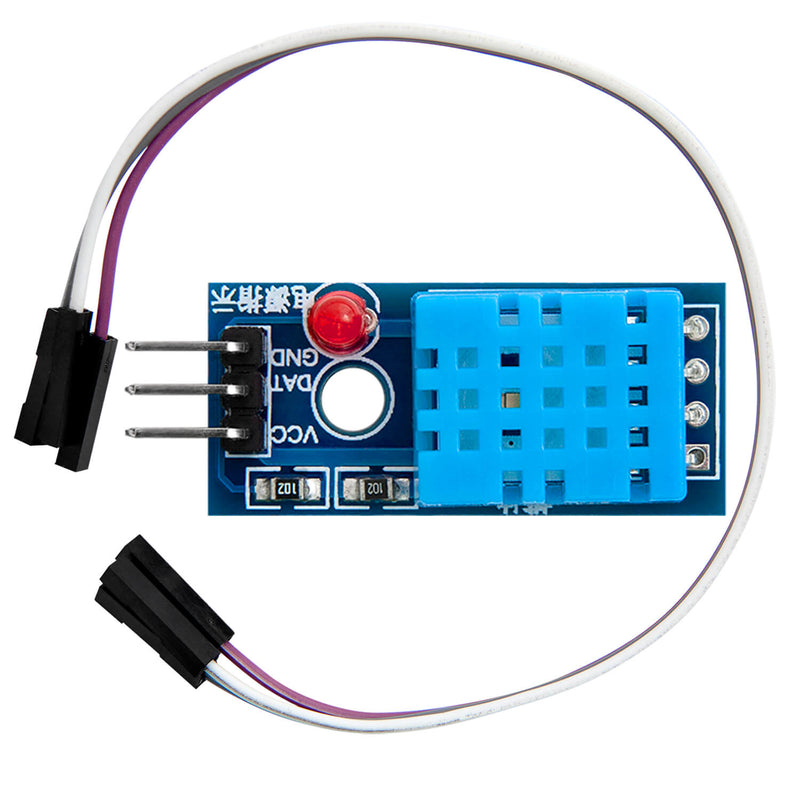 DHT11 Breakout Module with board and cable temperature sensor and humidity sensor for Arduino