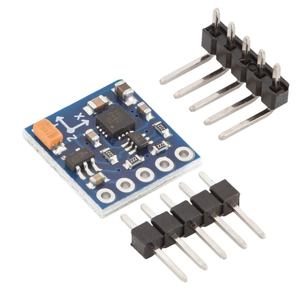 GY-271 Compass Module Compass Magnet Sensor for Arduino and Raspberry Pi Sensor AZ-Delivery 1x GY-271