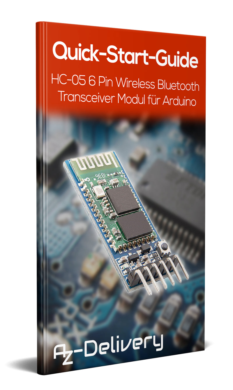 HC-05 6 Pin Wireless Bluetooth Transceiver Modul für Arduino