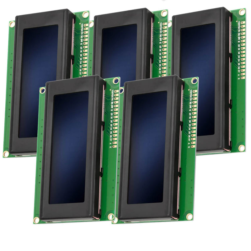HD44780 2004 LCD Display 4x20 Zeichen Blau Display AZ-Delivery 5x Display