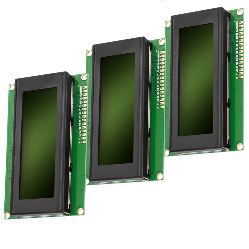 HD44780 2004 LCD Display 4x20 Zeichen Grün Display AZ-Delivery 3x LCD