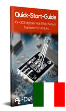 KY-003 Hall Sensor Magnetic Module (digitaal)