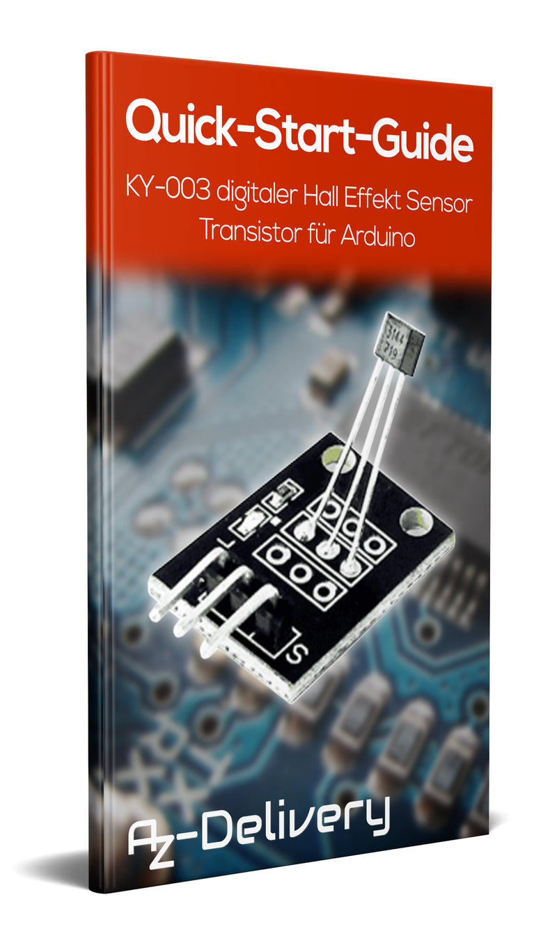KY-003 Hall Sensor Magnetic Module (digital)