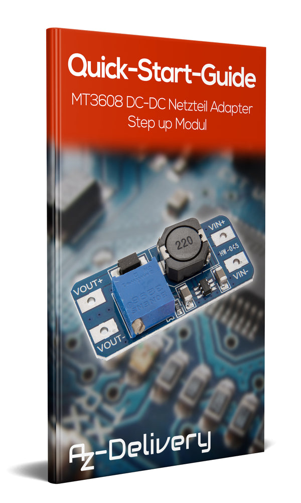 MT3608 DC-DC Step up Modul