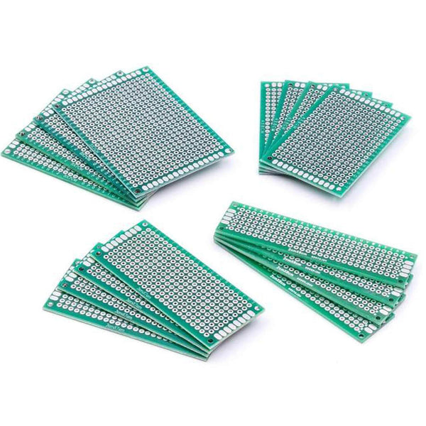 PCB board set perforated board perforated board PCB for Arduino Arduino accessories AZ-Delivery 4x 4 PCB