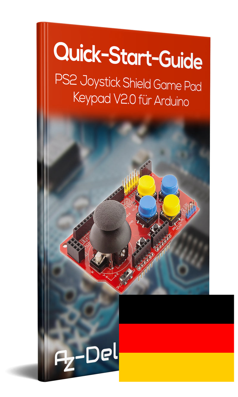 Keypad Gamepad Shield PS2