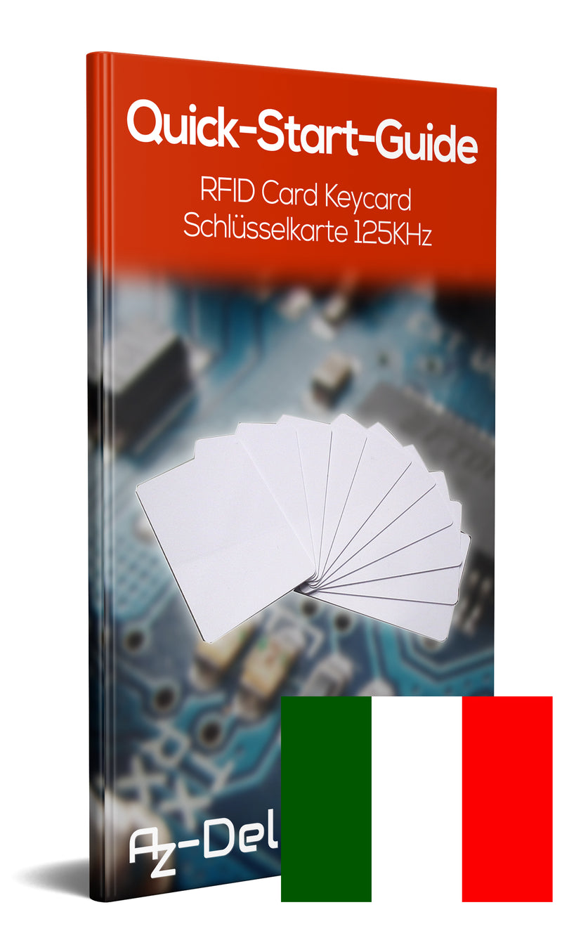 RFID cards, 125 KHz, white