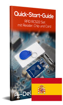 RFID RC522 set with reader, chip and card (13,56MHz)