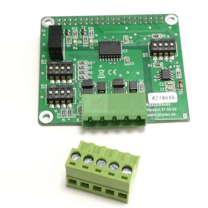 RS422 / RS485 HAT for Raspberry Pi with electrical isolation RaspberryPi accessories AZ delivery