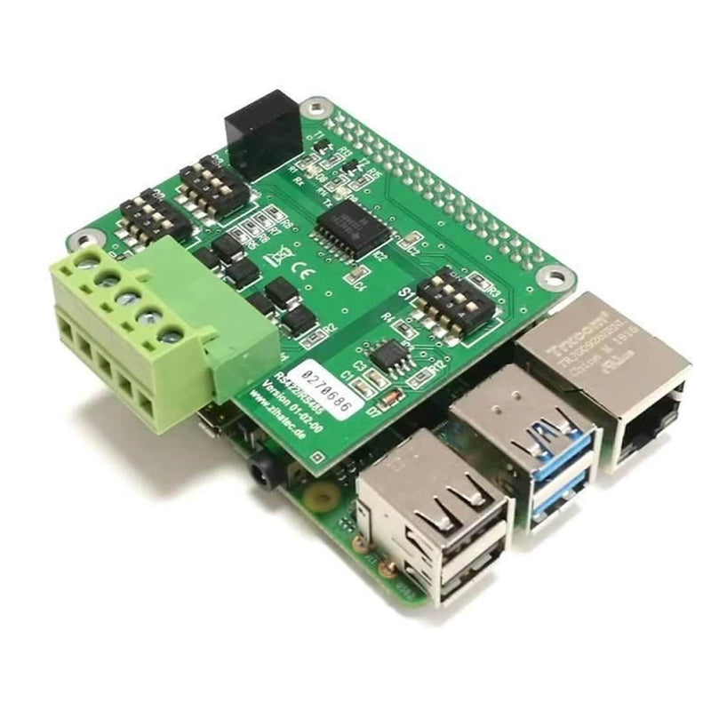 RS422 / RS485 HAT for Raspberry Pi with galvanic separation RaspberryPi Accessories AZ-Delivery 1X RS422