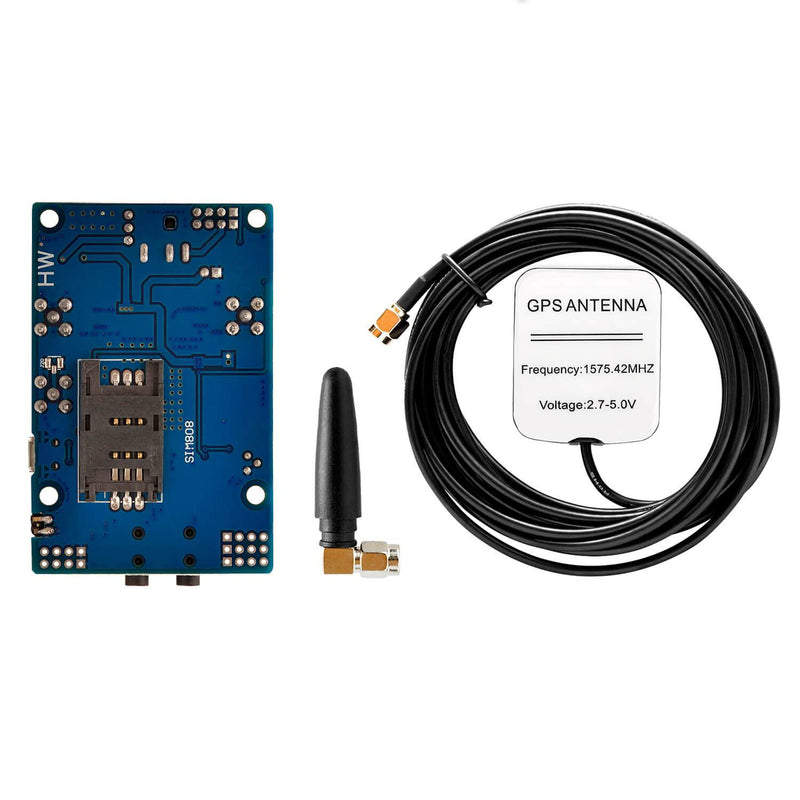 SIM 808 GPRS/GSM Shield with GPS antenna for Arduino AZ-Delivery