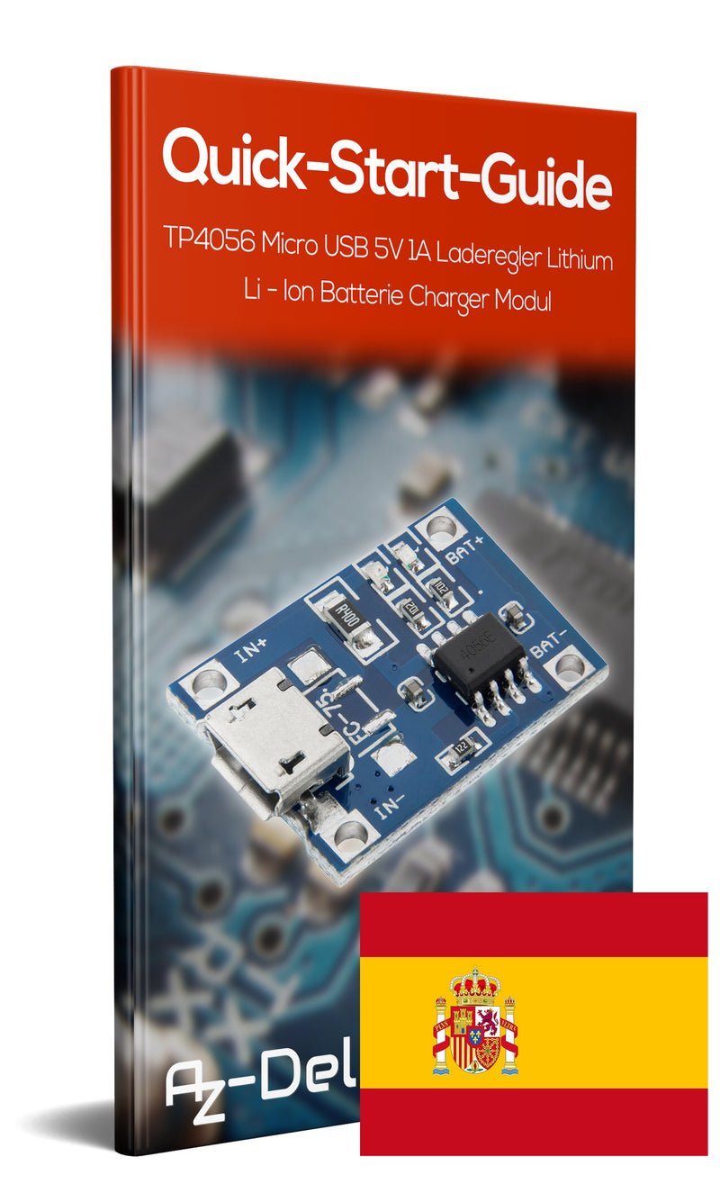 Charge controller TP4056 Micro-USB