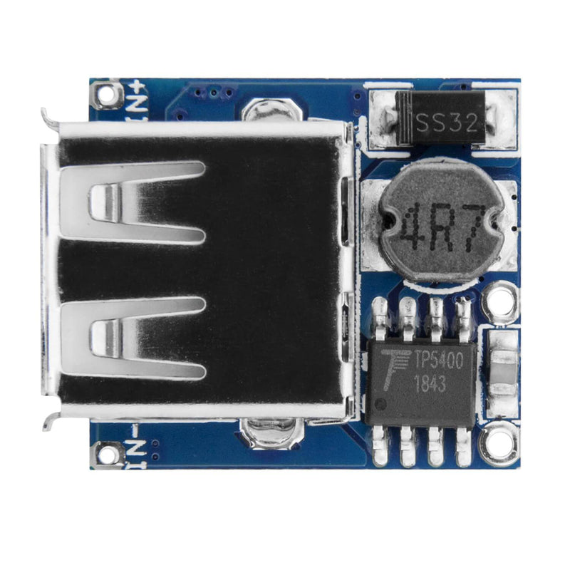 TP5400 Micro USB Power Bank Module Charge Controller and USB Port for Arduino Power Supply AZ-Delivery