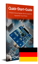 Keypad TTP224 1x4 (capacitive)