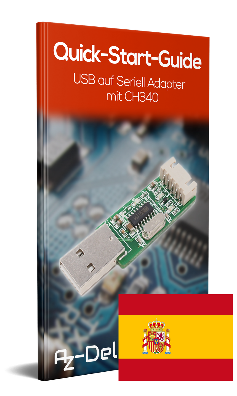 USB to serial adapter with CH340