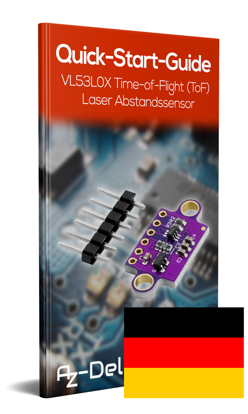VL53L0X Time-of-Flight (ToF) Laser Abstandssensor