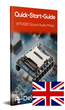 WTV020 Sound Audio Modul SD Card für Arduino