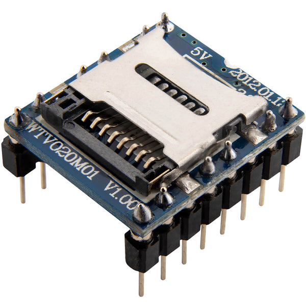 WTV020 Sound Audio Module SD Card for Arduino AZ-Delivery 1x module