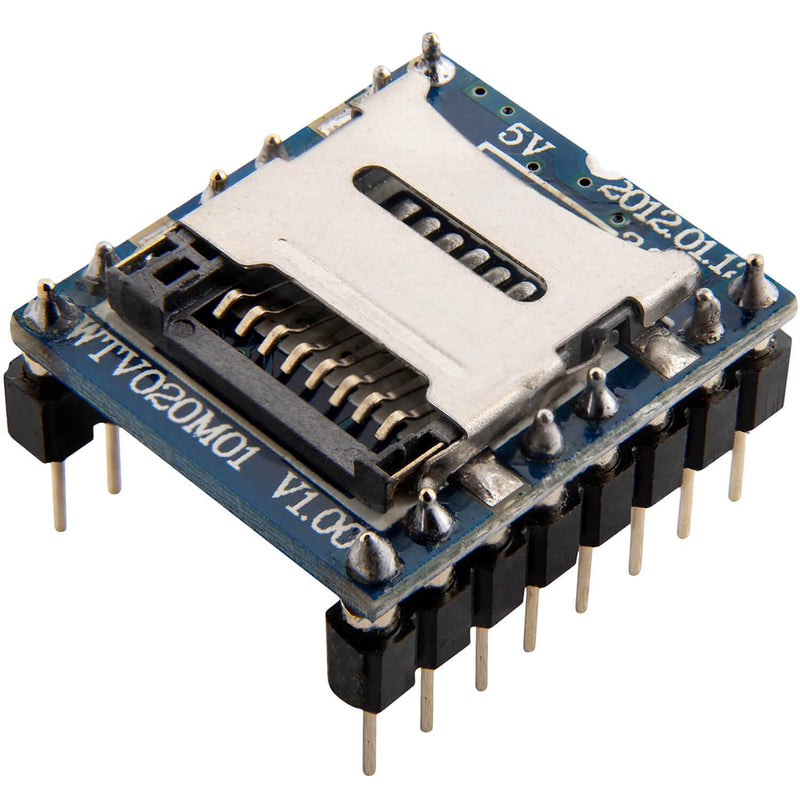 WTV020 Sound Audio Modul SD Card für Arduino AZ-Delivery 1x Modul