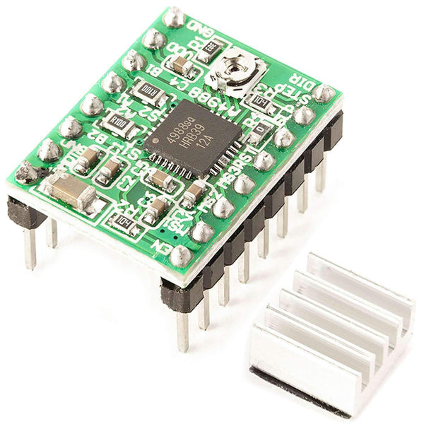 A4988 Stepper Motor Driver Module with Heat sink Arduino Accessories AZ-Delivery 1x A4988