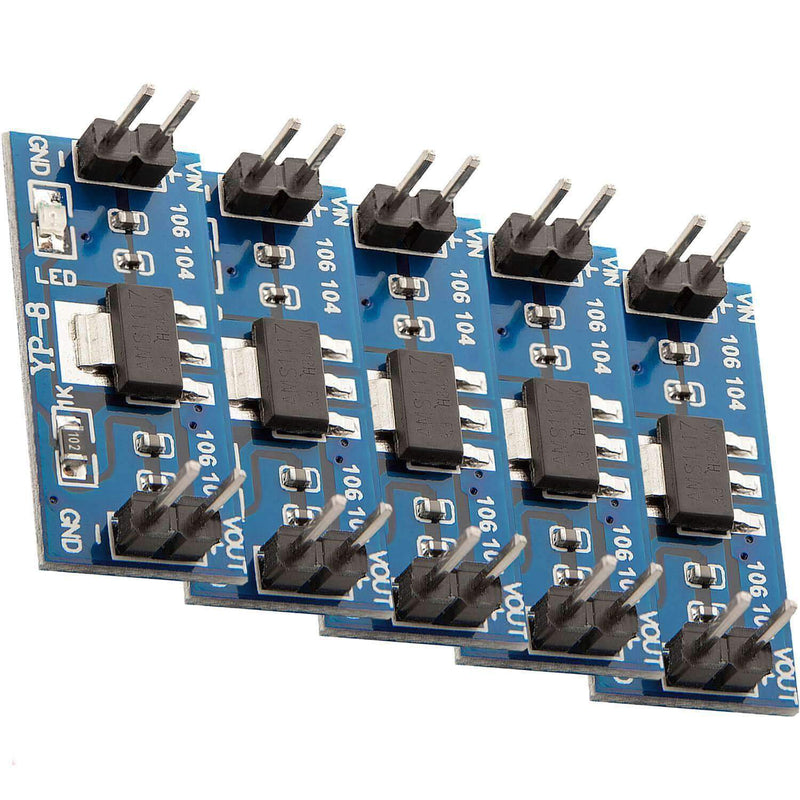 AMS1117 3.3V Power Supply Module for Arduino Raspberry Pi
