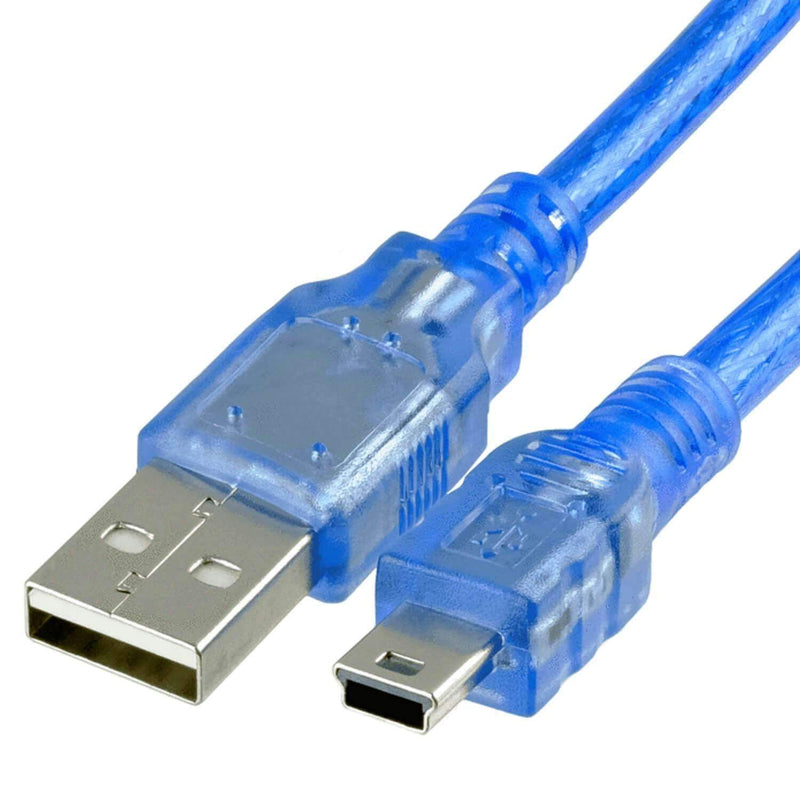 Blue Mini USB cable for Arduino Nano V3.0100% compatible with Nano V3 Arduino accessories AZ-Delivery 1x cable