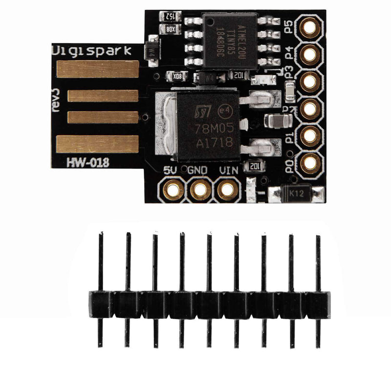 Digispark Rev.3 Kickstarter with ATTiny85 and USB for Arduino Arduino Compatible AZ-Delivery