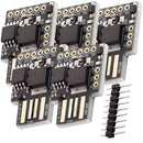 Digispark Rev.3 Kickstarter with ATTiny85 and USB for Arduino Arduino Compatible AZ-Delivery 5x Digispark
