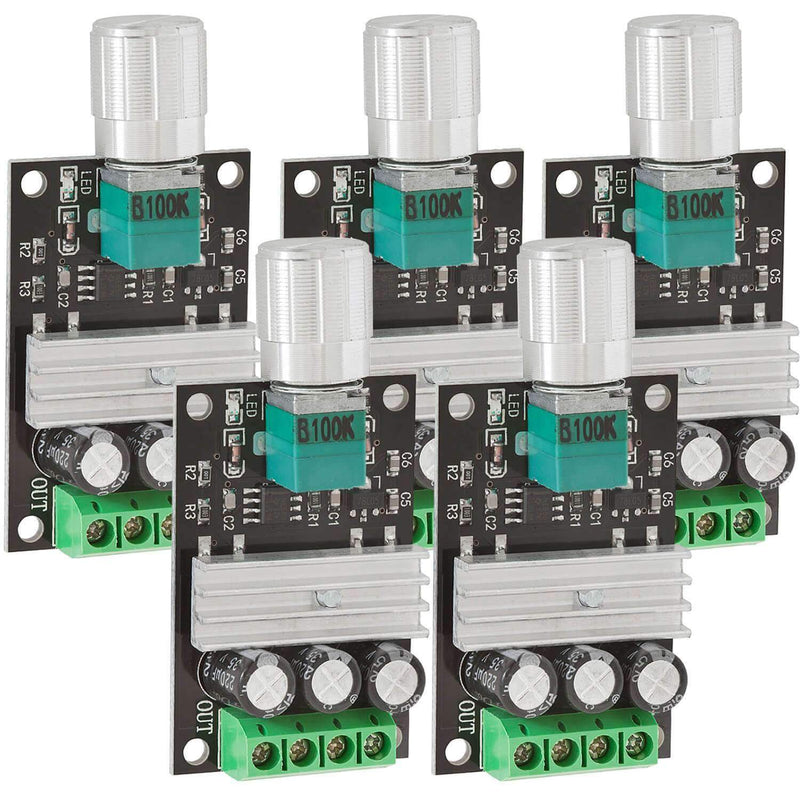 Speed controller PWM module DC Motor speed switch module for Arduino AZ-Delivery 5x module
