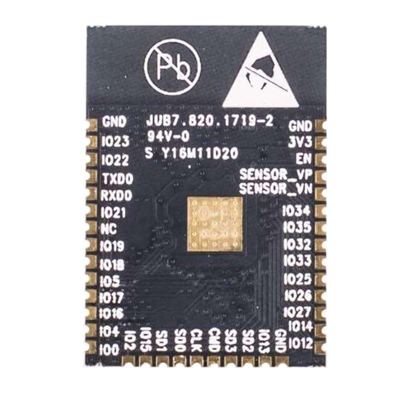 ESP32 Wlan WiFi module with free adapter plate for Arduino, Raspberry Pi and microcontroller