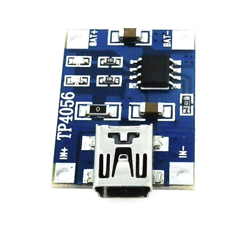 TP4056 Mini USB 5V 1A Charge Controller Lithium Li - Ion Battery Charger Module
