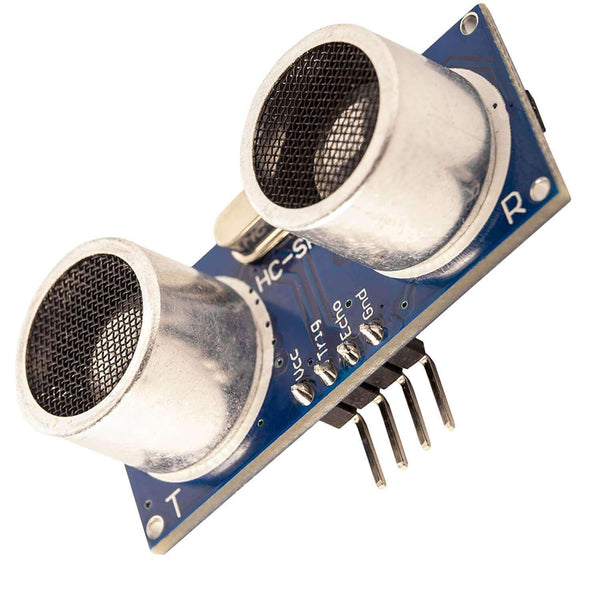 HC-SR04 ultrasonic module distance Sensor for Raspberry Pi and Arduino Arduino accessories, AZ-Delivery 1x module