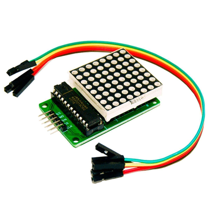 MAX7219 8x8 1 Dot Matrix MCU LED Anzeigemodul für Arduino Display AZ-Delivery 1x LED Matrix
