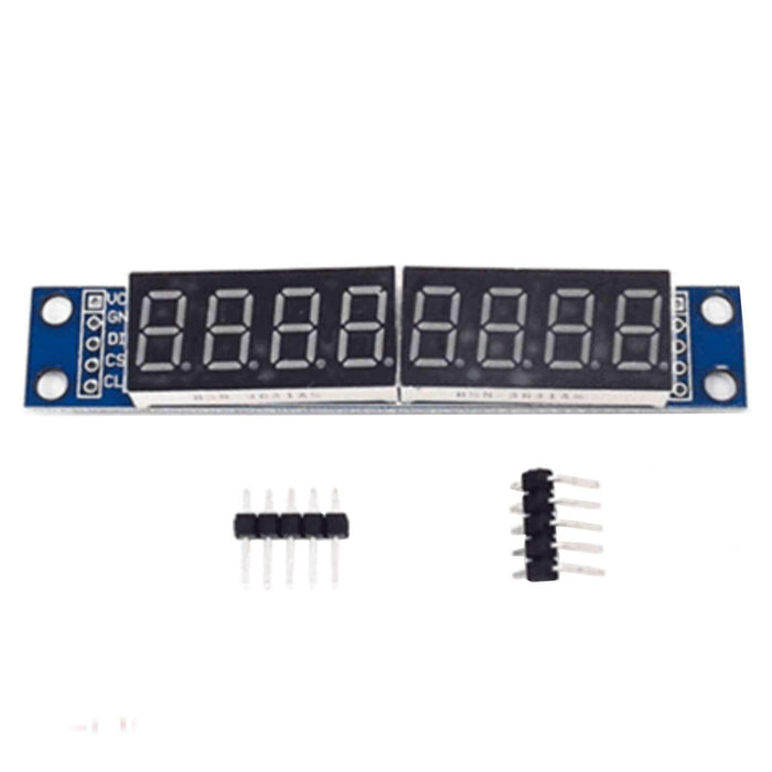 MAX7219 Led Modul 8 Bit 7-Segmentanzeige LED Display für Arduino und Raspberry Pi Display AZ-Delivery