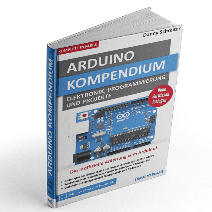 Nano V3.0, soldered version with USB cable Arduino compatible AZ-Delivery Arduino book