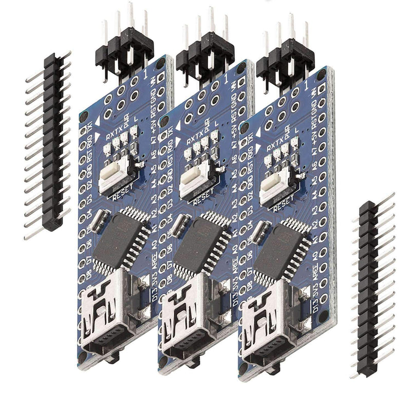 Nano V3.0 with Atmega328 CH340! 100% Arduino compatible with Nano V3 Arduino Compatible AZ-Delivery 3x Nano V3