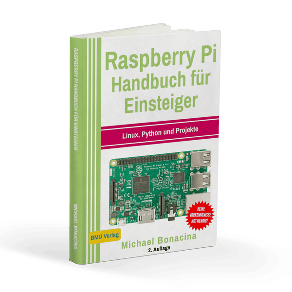 Manual para principiantes de Raspberry Pi: Linux, Phyton y Proyectos AZ-Delivery Reading Sample