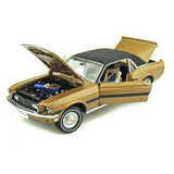 GREENLIGHT 1:18 1968 GOLD FORD MUSTANG GT CONTRY SPECIAL DIECAST MODEL CAR