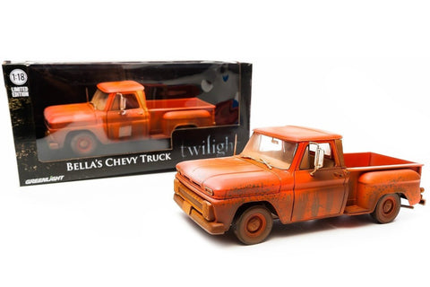 GREENLIGHT 1:18 1963 TWILIGHT BELLA'S CHEVY DIECAST TRUCK