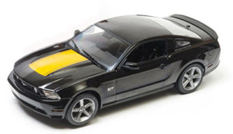 GREENLIGHT 1:18 2010 BLACK FORD 2010 MUSTANG GT DIECAST MODEL CAR