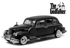 "Greenlight 1:18 Black 1941 Packard Super Eight One-Eighty ""The Godfather"" (1972) Movie Diecast Model Car"