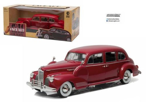 Greenlight 1:18 Scale 1941 Laguan Maroon Packard Super Eight One-Eighty Diecast Model Car