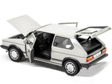 Welly 1:18 Scale 1983 White Volkswagen Golf 1 GTI Diecast Model Car