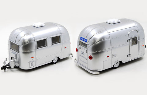 Greenlight 1:24 Scale Silver Airstream Bambi Sport Trailer