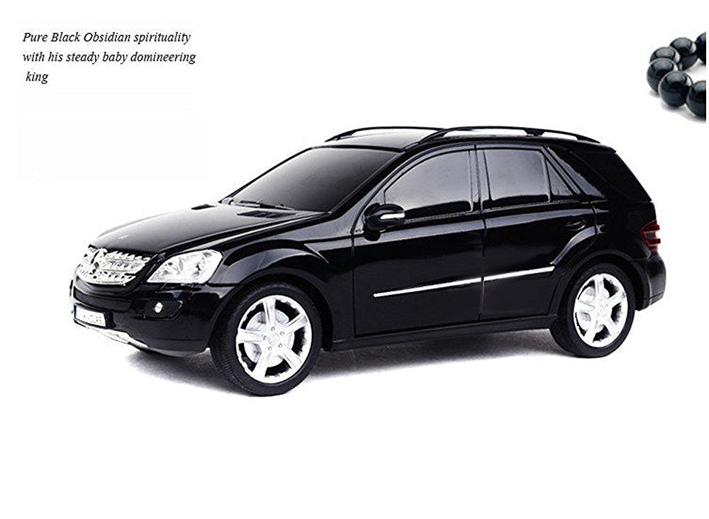 Rastar 1/18 Scale Black Mercedes Benz ML Class RC Model Car RTR